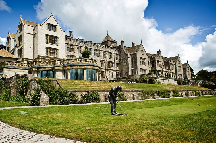 Scroll right for Bovey Castle wedding photos